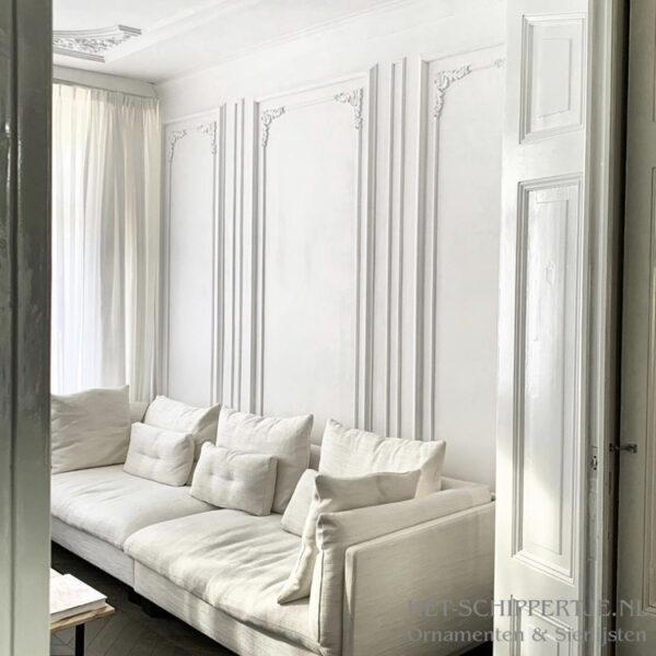 Wandlijsten van gips voor mooie wanddecoratie