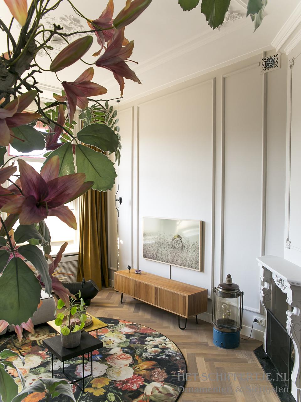 wanddecoratie, perklijsten