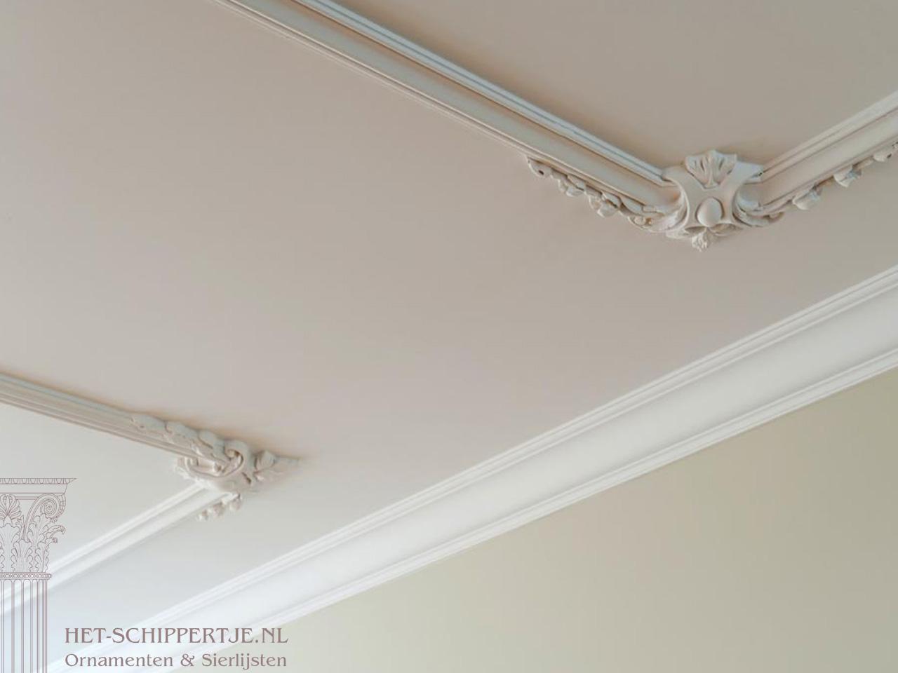 plafondlijsten herenhuis amsterdam