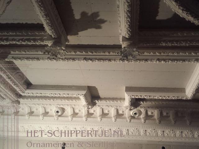 plafondlijsten barok klassiek groningen