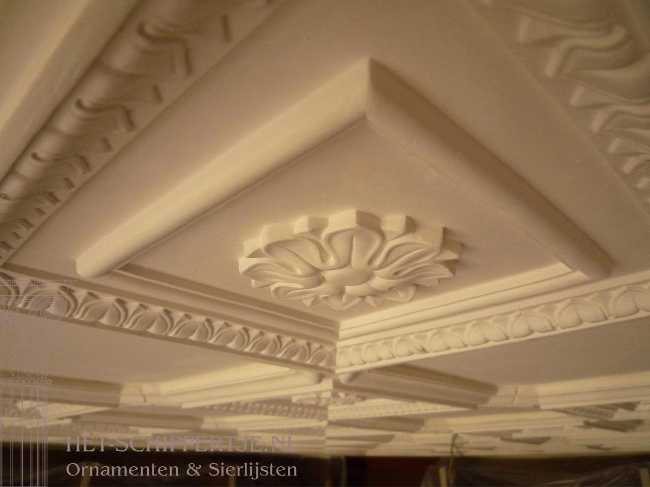 plafonddecoratie landhuis heerde