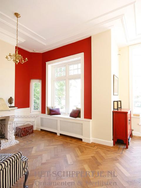 moderne sierlijsten woonhuis Haarlem
