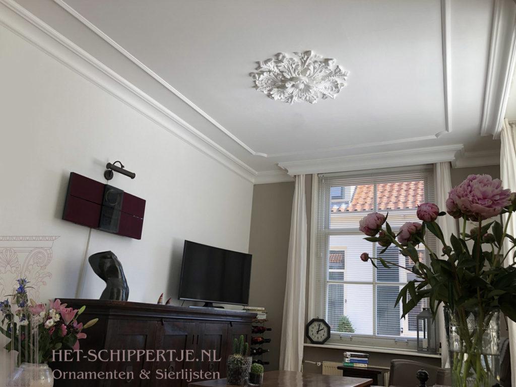 ornamenten in diverse woonhuizen