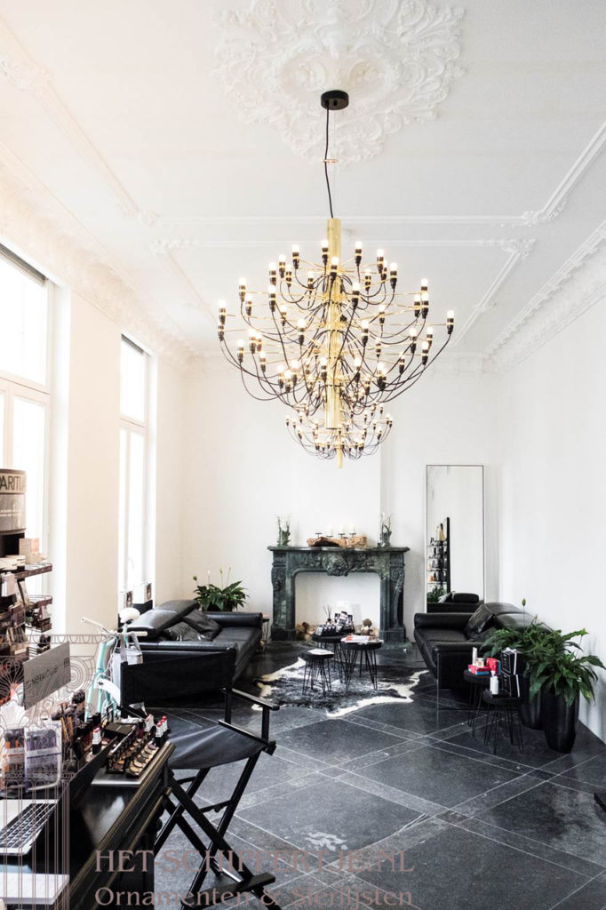 klassieke ornamenten en sierlijsten
