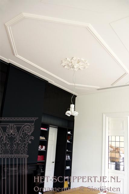 rozet sierlijsten klassiek plafond