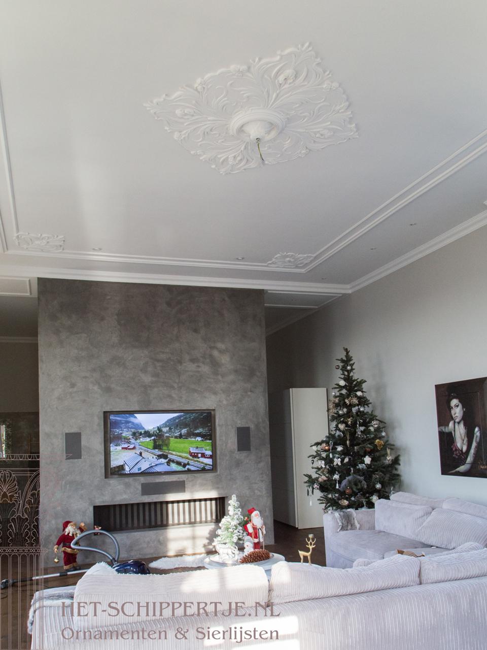 ornamentenplafonds jugendstil woonhuis