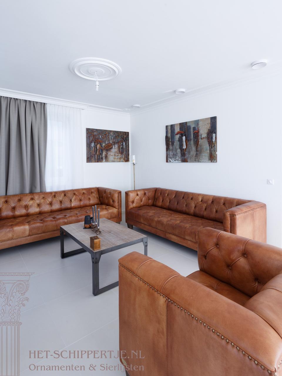 plafondornamenten woonhuis harderwijk sierlijsten
