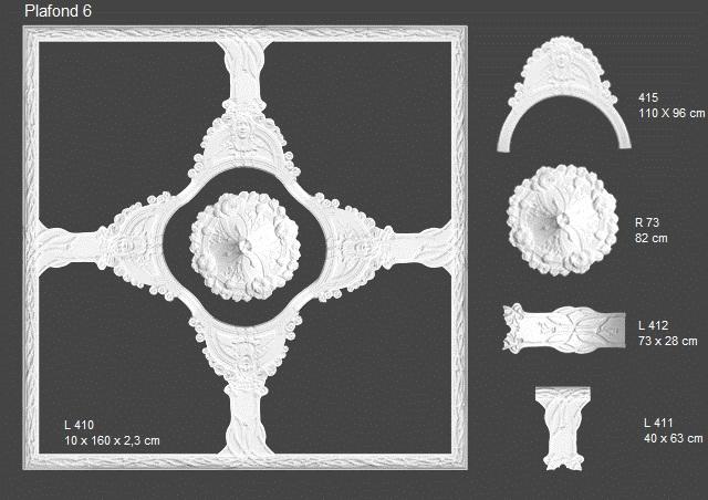 ornamenten sierlijsten jugendstil