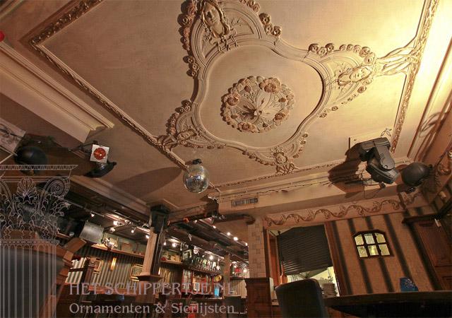 jugendstil plafond boterlap
