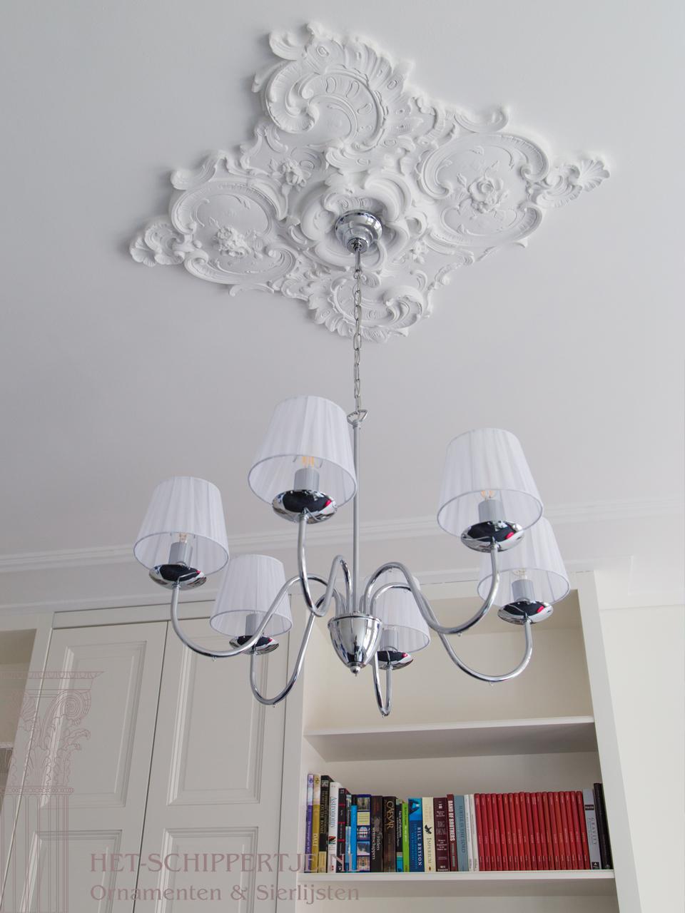 plafondlijsten amsterdam herenhuis