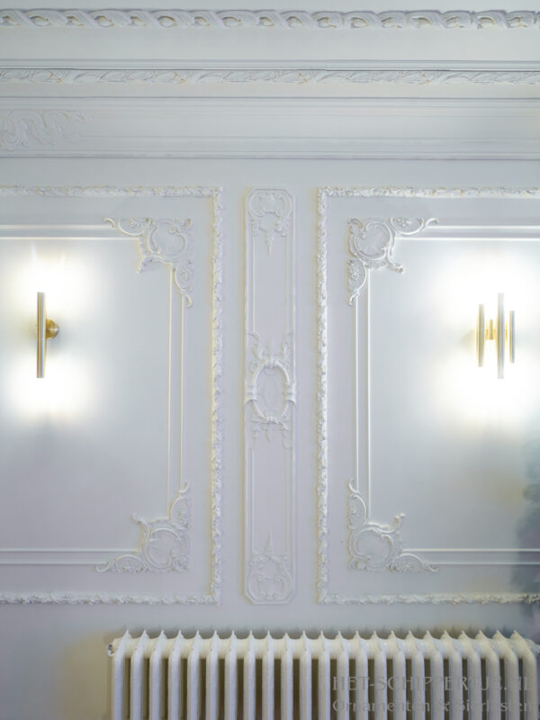 wanddecoratie op muur
